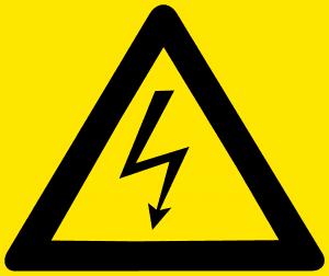 סכנת התחשמלות