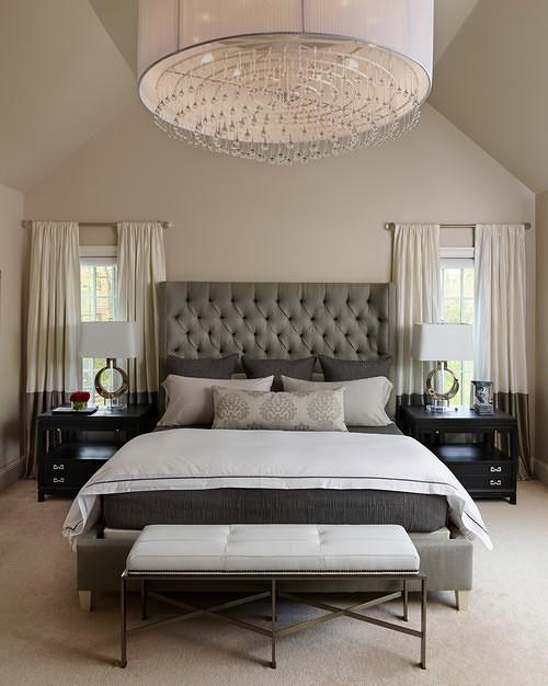תאורת חדר שינה מעוצבת