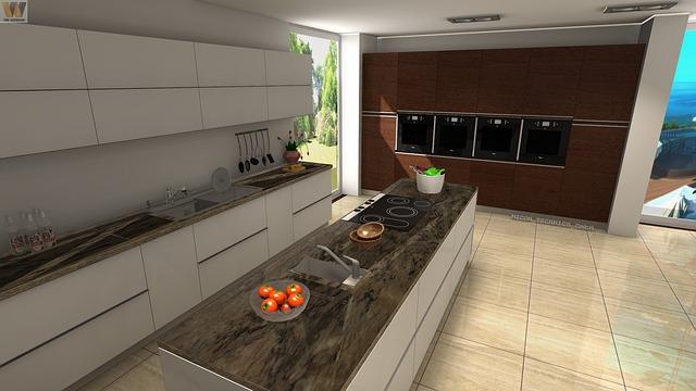 משטח עבודה למטבח