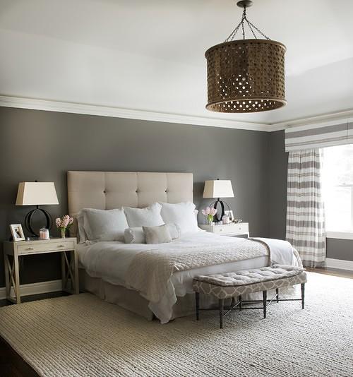 צביעת קירות בחדר שינה