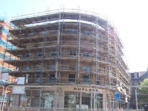 שיפוץ של בניין