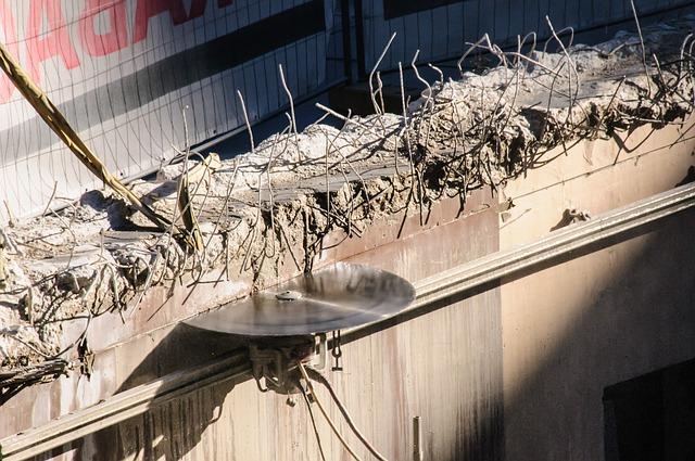 ניסור גג וקיר בטון